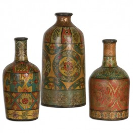 Sachi Terracotta Vases Set of 3