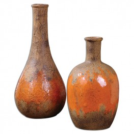 Kadam Ceramic Vases Set of 2