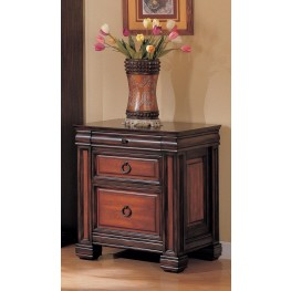 Chomedey Two Tone File Cabinet