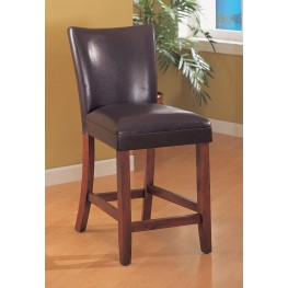 Soho Brown Counter Height Stool Set of 2