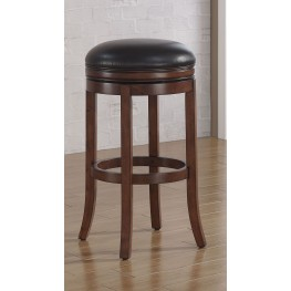 B2-200-34L Wood Frame Backless Bar Stool