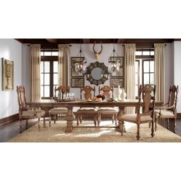 Accentrics Home Desdemona Rectangular Extendable Dining Room Set