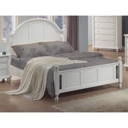 Kayla White Full Bed