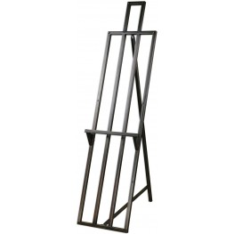 Andreana Gray Metal Floor Easel