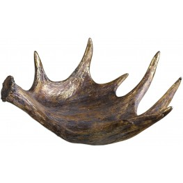 Moose Antler Rustic Bowl