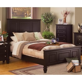 Sandy Beach Cappuccino King Bed