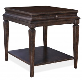 Classic Multi Step Brindle End Table