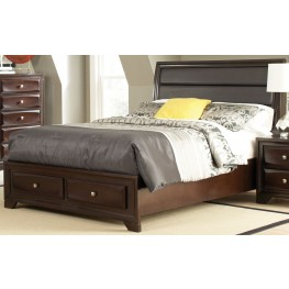 Jaxson Queen Storage Platform Bed