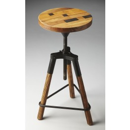 2048025 Industrial Chic Metalworks Revolving Bar Stool