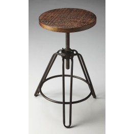 2050025 Industrial Chic Metalworks Revolving Bar Stool