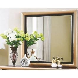 Zovatto Black and Golden Mirror