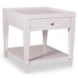 Cosmopolitan Parchment 1 Drawer End Table