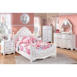 Exquisite Poster UnderBed Storage Bedroom Set