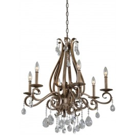 Siobhan 6 Light Crystal Chandelier