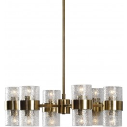 Marinot Gold 12 Light Chandelier