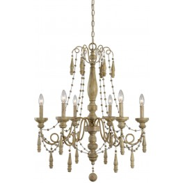 Marinot Brown 12 Light Chandelier