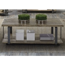 Baja Weathered Rectangular Cocktail Table