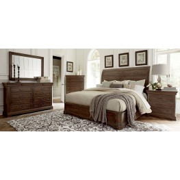 St. Germain Platform Sleigh Bedroom Set