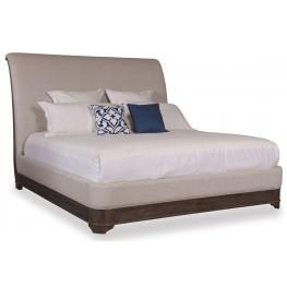 St. Germain King Upholstered Sleigh Bed