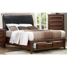 Sunderland Cal. King Platform Storage Bed