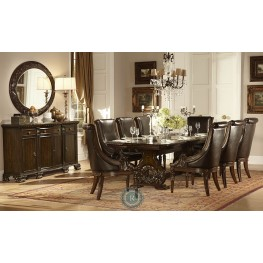 Orleans Trestle Extendable Dining Room Set