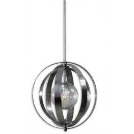 Trofarello Silver 1 Light Pendant