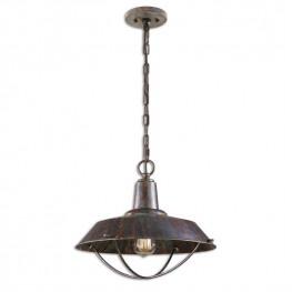 Arcada 1 Light Bronze Pendant