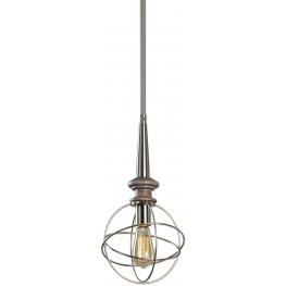 Amira Gray 1 Light Mini Pendant