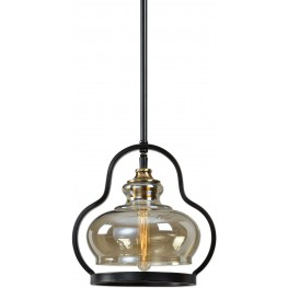 Cotulla Black 1 Light Mini Pendant
