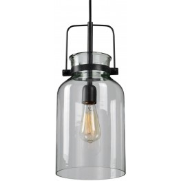 Lansing Black 1 Light Mini Pendant