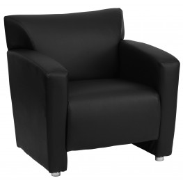 Hercules Majesty Series Black Leather Chair