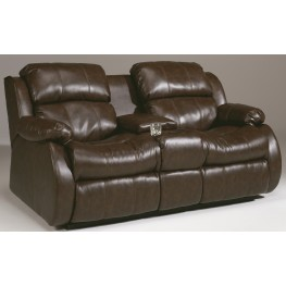 Mollifield DuraBlend Cafe Double Reclining Loveseat