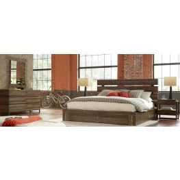 Epicenters Williamsburg Platform Storage Bedroom Set