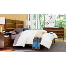 Epicenters Slat Back Platform Bedroom Set