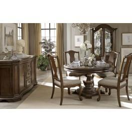 La Viera Round Dining Room Set