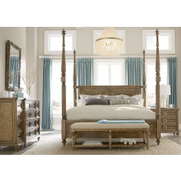 Pavilion Poster Canopy Bedroom Set