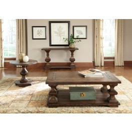 Sedona Kona Brown Occasional Table Set