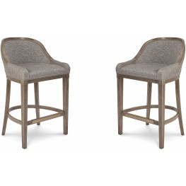 Cityscapes Stone Lincoln Bar Stool Set of 2