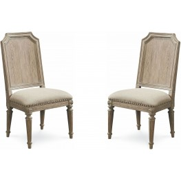 Arch Salvage Parchment Mills Side Chair Set of 2