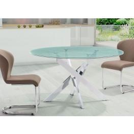 Stance Crackled Round Dining Room Set