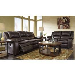 Long Knight Brown Reclining Living Room Set