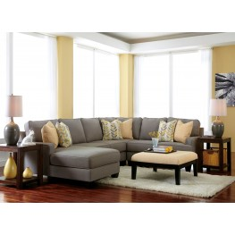 Chamberly Alloy LAF Chaise Sectional