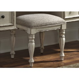 Magnolia Manor Antique Vanity Stool