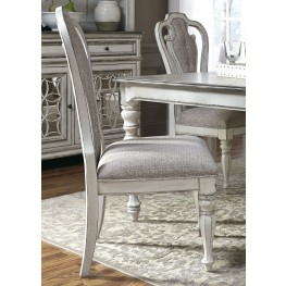 Magnolia Manor Antique White Splatback Side Chair Set of 2