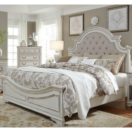 King Size Beds Coleman Furniture - White-king-bed-frame
