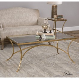 Alayna Gold Occasional Table Set