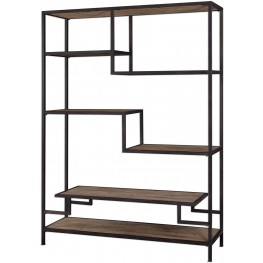 Sherwin Industrial Brown Etagere