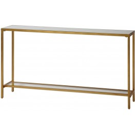 Hayley Gold Console Table