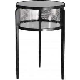 Gustav Black Iron Accent Table