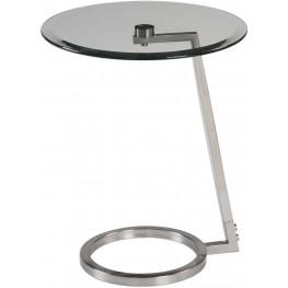 Ordino Modern Gray Accent Table